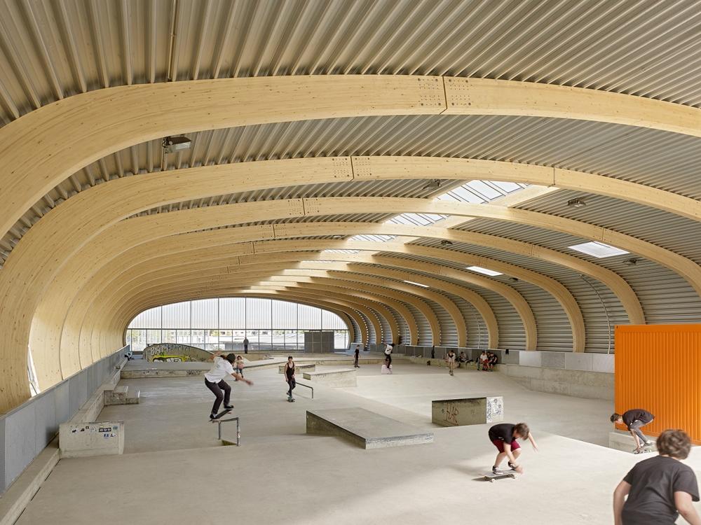 Skatepark Housing Stuttgart Structural Design