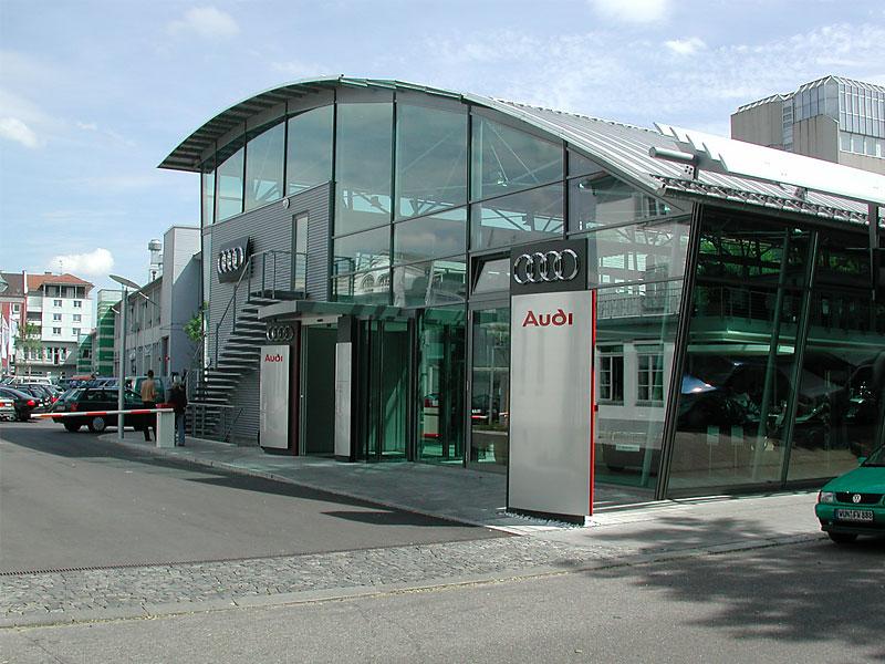 Audi Showroom Master Design Modules A B B Structural